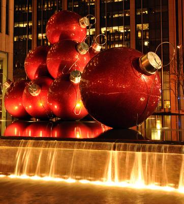New York Christmas Balls