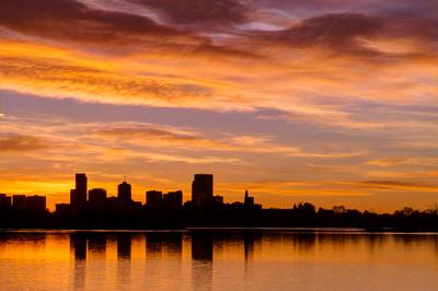 Sloans Lake at Sunrise 3